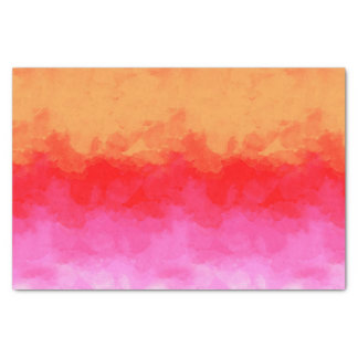 Watercolor Effects Fruit Salad ID134 Tissue Paper