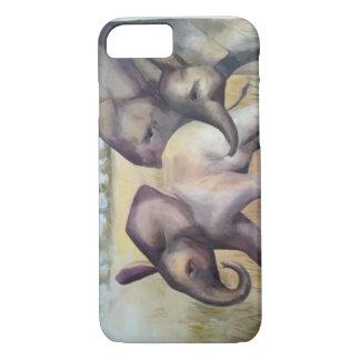 Watercolor Elephant iPhone Case