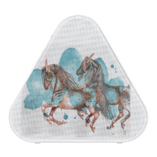 Watercolor Equine Art Bluetooth Speaker