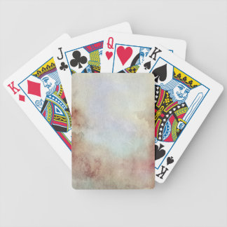 Watercolor Fall Background Bicycle Playing Cards
