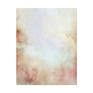 Watercolor Fall Background Canvas Print