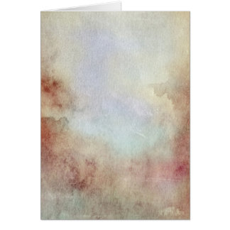 Watercolor Fall Background Card