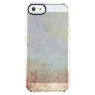 Watercolor Fall Background Clear iPhone SE/5/5s Case