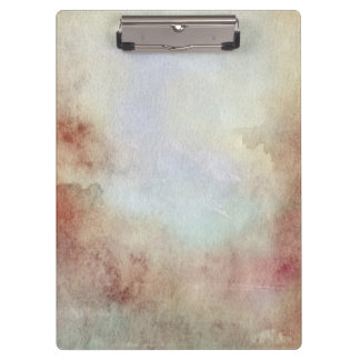Watercolor Fall Background Clipboard