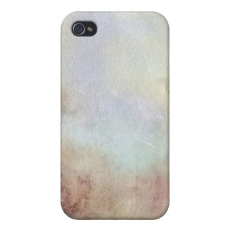 Watercolor Fall Background Cover For iPhone 4