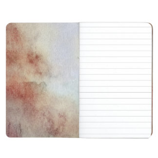 Watercolor Fall Background Journal