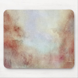 Watercolor Fall Background Mouse Pad
