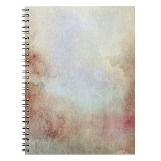 Watercolor Fall Background Notebook