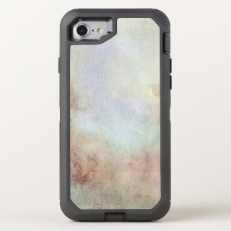 Watercolor Fall Background OtterBox Defender iPhone 7 Case