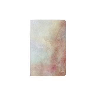 Watercolor Fall Background Pocket Moleskine Notebook