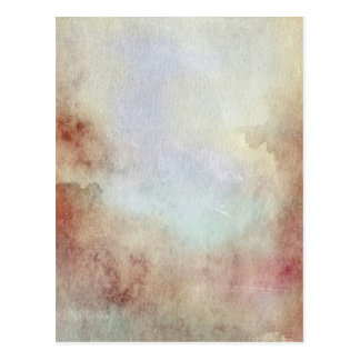 Watercolor Fall Background Postcard