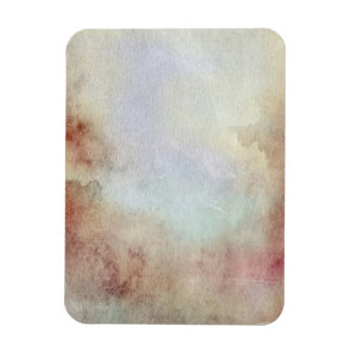 Watercolor Fall Background Rectangular Photo Magnet