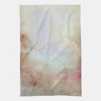 Watercolor Fall Background Tea Towel