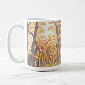 Watercolor Fall Trees Mug