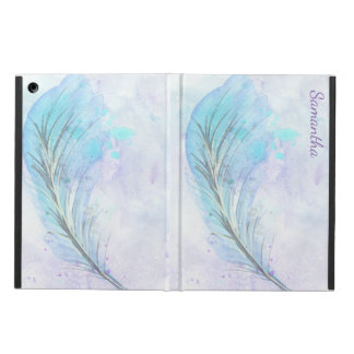 Watercolor Feather iPad Air Case