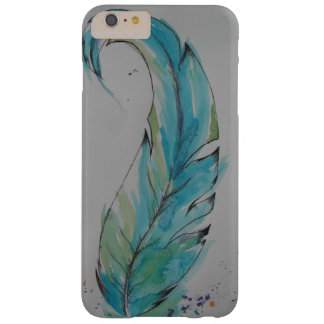 Watercolor Feather iPhone Case