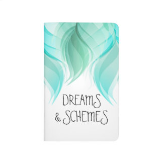 Watercolor Feathers Modern Whimsy Journal