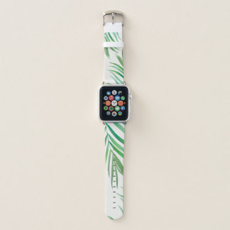 Watercolor Fern Leaves Apple Watch Bans Apple Watch Band