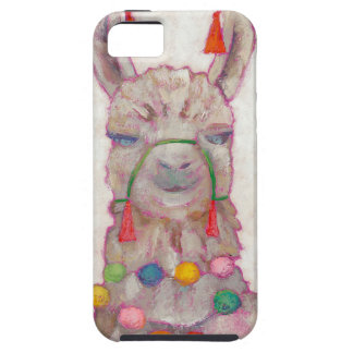 Watercolor Festival Llama iPhone 5 Covers