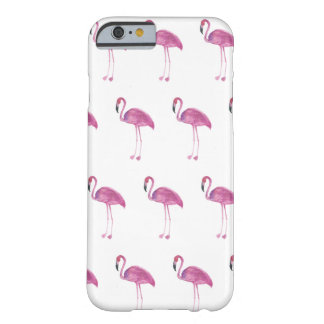 Watercolor Flamingo Pattern on a Case