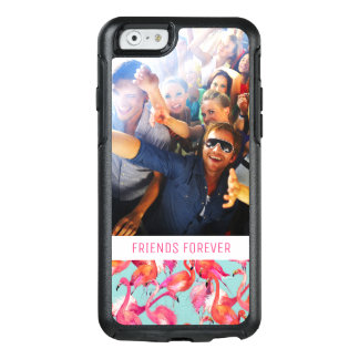 Watercolor Flamingos | Add Your Photo & Text OtterBox iPhone 6/6s Case
