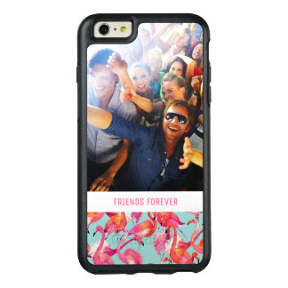 Watercolor Flamingos | Add Your Photo & Text OtterBox iPhone 6/6s Plus Case
