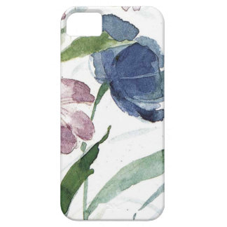 watercolor floral barely there iPhone 5 case
