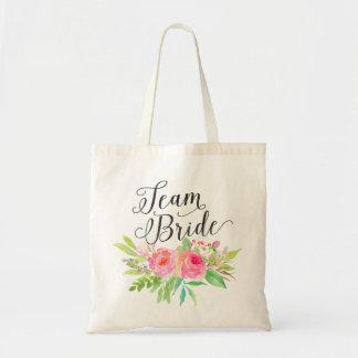 Watercolor Floral Bouquet Team Bride2