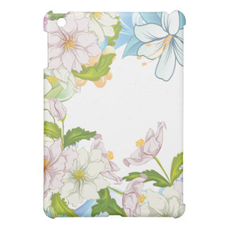 Watercolor Floral iPad Mini Covers