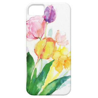 watercolor floral iPhone 5 case
