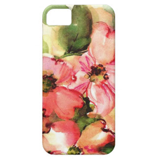watercolor floral iPhone 5 case