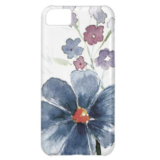 watercolor floral iPhone 5C case