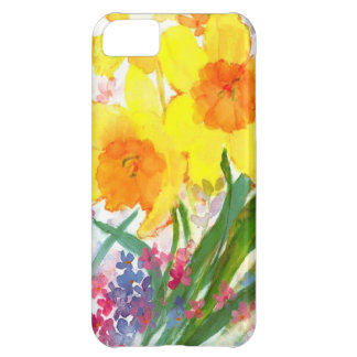 watercolor floral iPhone 5C covers