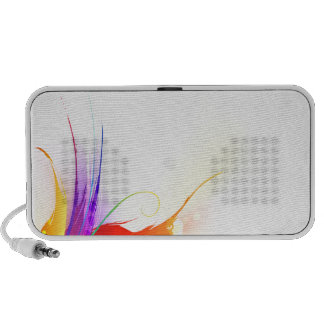 Watercolor Floral Speaker System