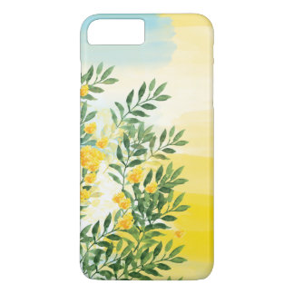 Watercolor floral summer phone case