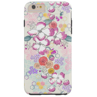 Watercolor Floral Tough iPhone 6 Plus Case