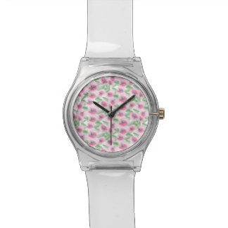 Watercolor Floral Watch