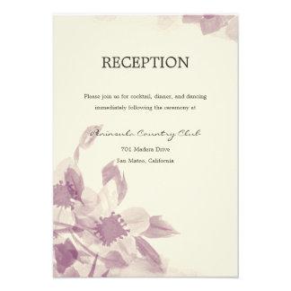 Watercolor Floral Wedding Invitation Personalized Invite