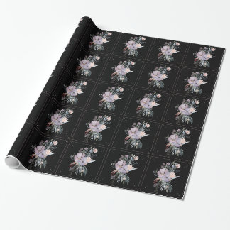 Watercolor Floral Wrapping Paper