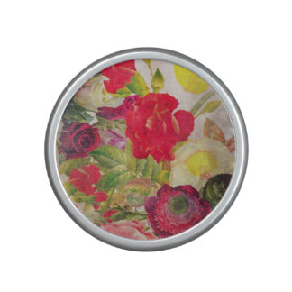 Watercolor Flower Garden Speaker
