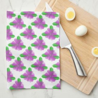 Watercolor Flower Kitchen / Tea Towel
