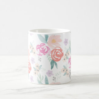 Watercolor Flower Mug