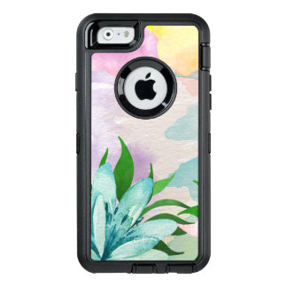 Watercolor Flower Otterbox iPhone Case