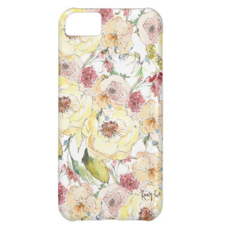 Watercolor Flower Pattern iPhone Case iPhone 5C Covers