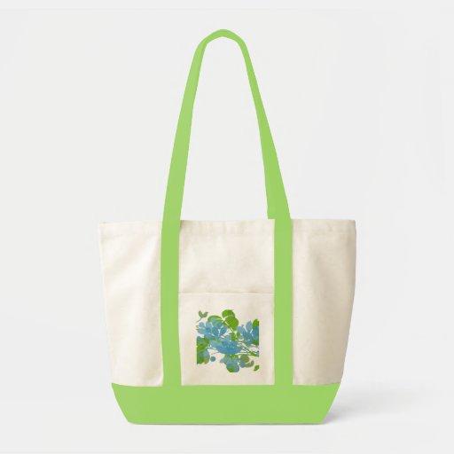Watercolor Flowers Bag