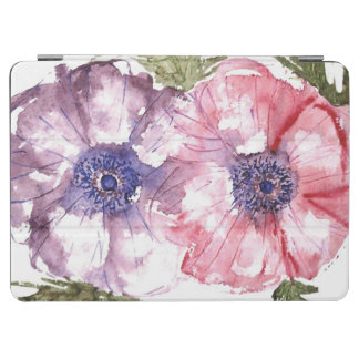 Watercolor flowers iPad air cover