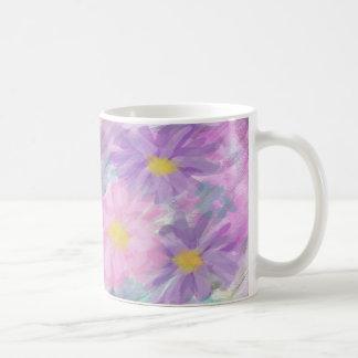 Watercolor Flowers Coffee Mugs