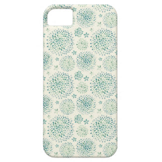 Watercolor flowers pattern barely there iPhone 5 case