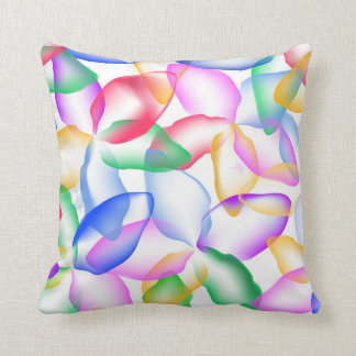 Watercolor flowers pillow