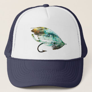 Custom fly fishing hats caps for Fly fishing trucker hat